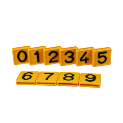 CRS 1 FOR COWS/HORSES NUMBER BLOCK 48 X 46 MM