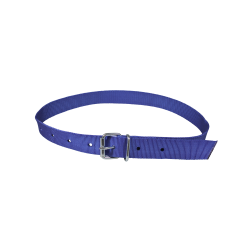 COLLAR WITH ROLL BUCKLE, BLUE